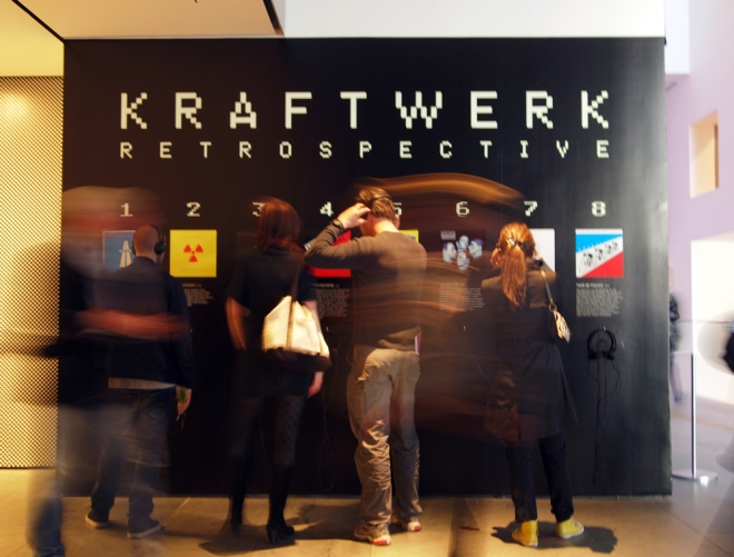 Kraftwerk at MoMA
