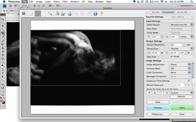 film scanning